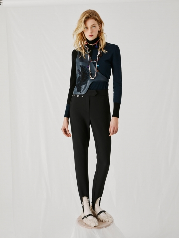 slim trousers with gaiter 21FA1537TECNIC_99