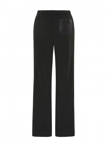 trousers with faux leather pockets 21FA151864075_780
